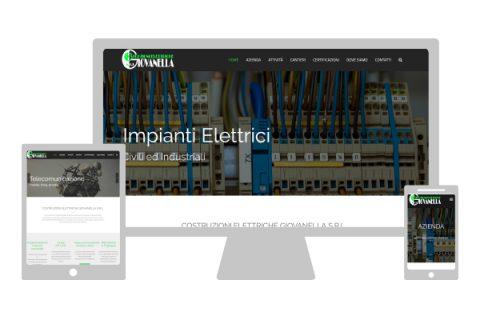 Costruzioni Elettriche Giovanella | Sito internet